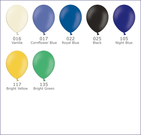 Latex balloons for printing and decoration - page 2