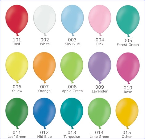 Latex Balloons For Printing And Decoration Page 1