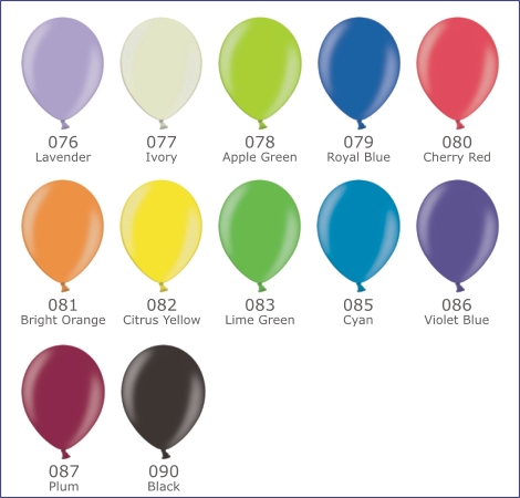 Latex balloons for printing and decoration - page 5