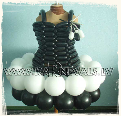 Modeling balloons - Balloon dresses - page 1.